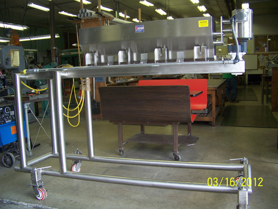 Model DE with Custom Mounting Requirements