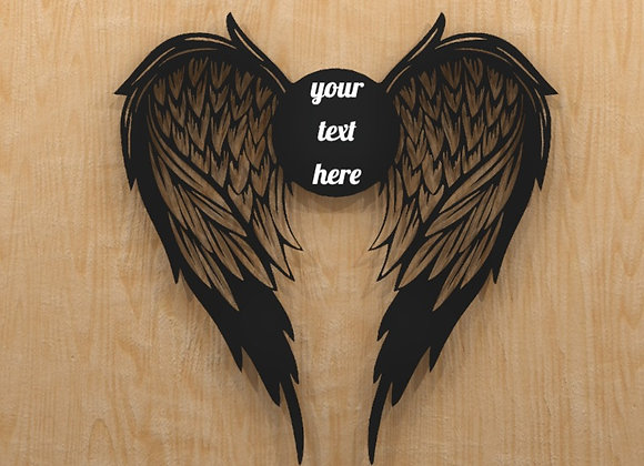 Memorial Angel Wings