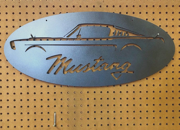 Mustang Sign