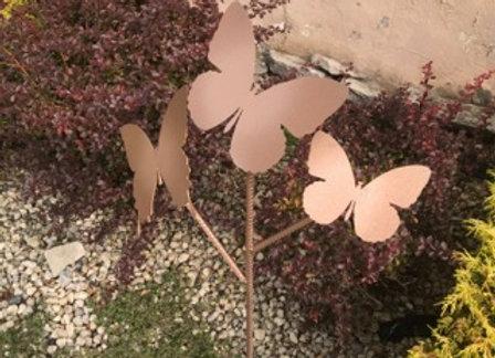 Butterfly Tree Garden Stake