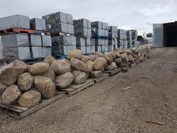 Granite boulders !