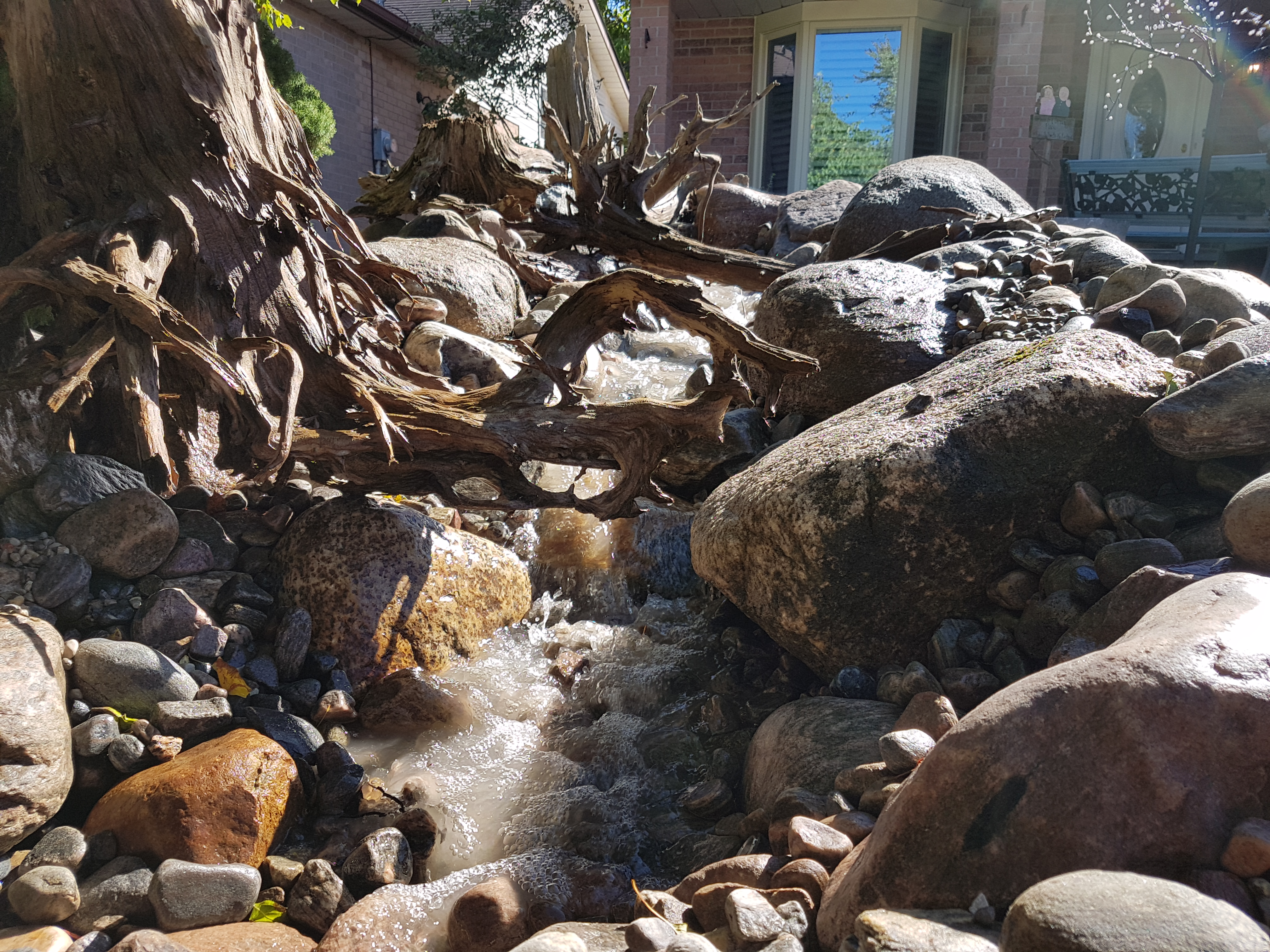 Jaqueline's pondless waterfall