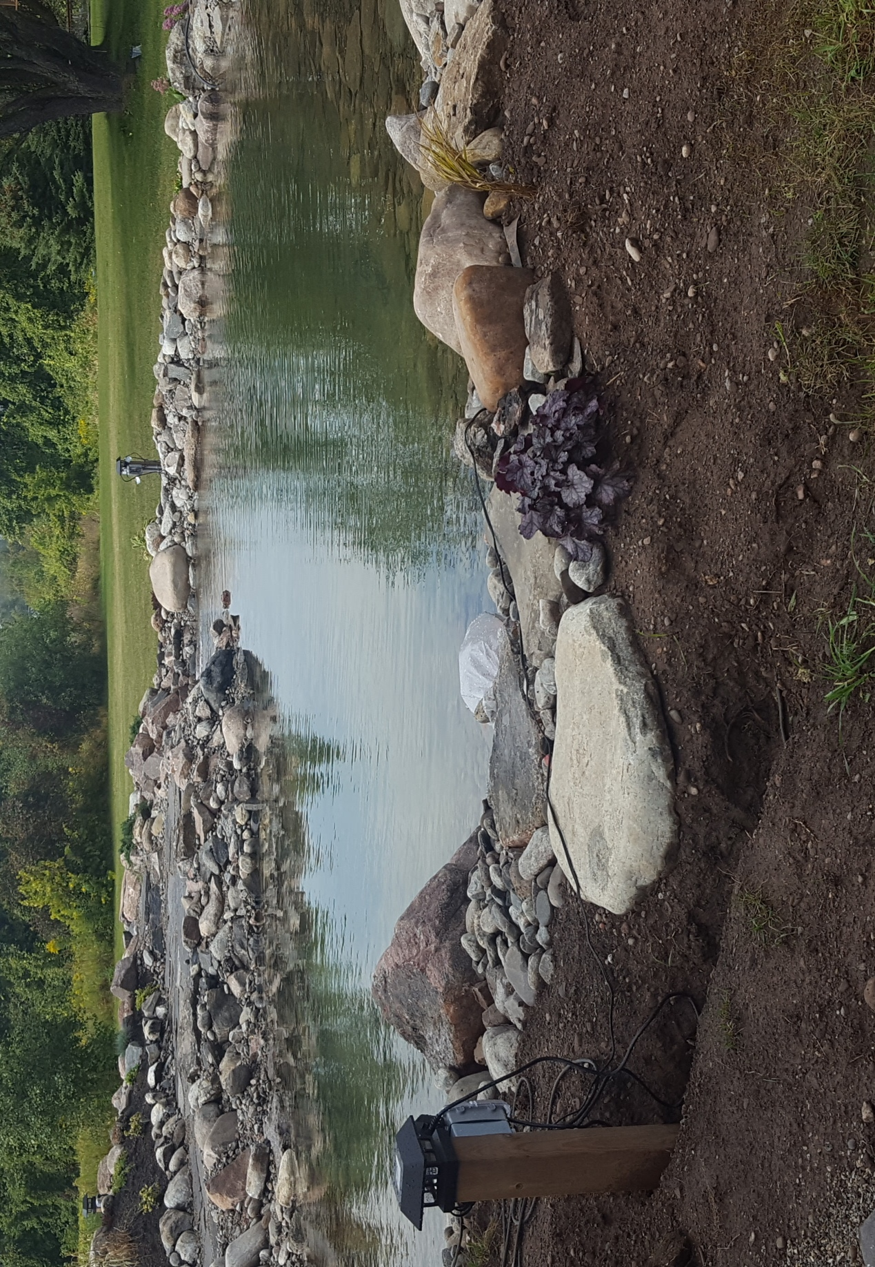 Swim Pond - 5500 gallons