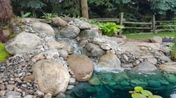 Jas' gorgeous granite waterfall