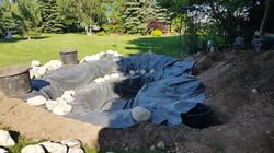 New pond liner