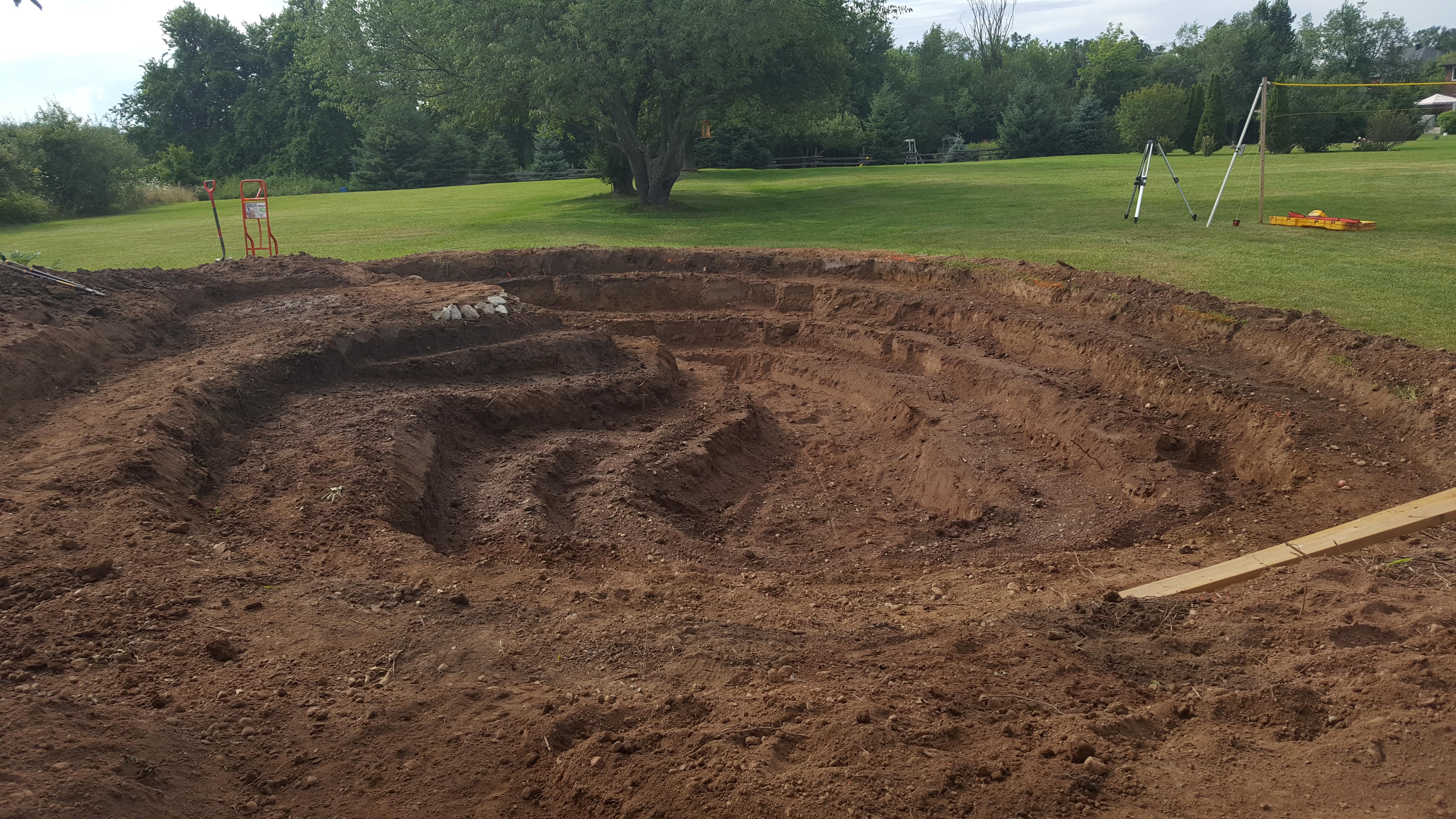 Swim Pond Excavation