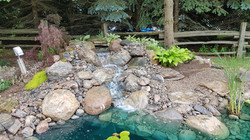 Jas' new waterfall