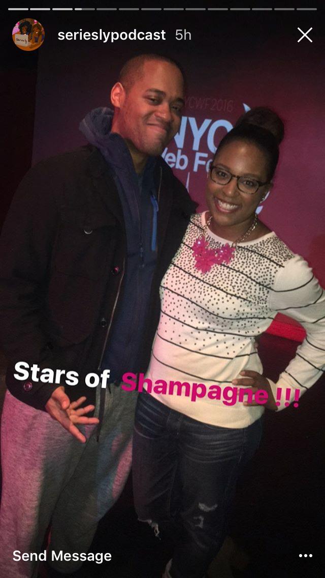 Shampagne at NYC Web Fest
