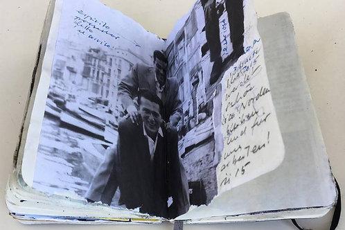 Original Skizzen- und Tagebucher,n°25 und 26