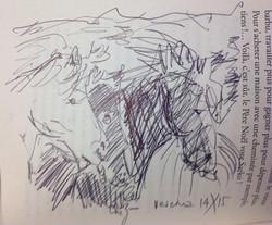 Ein Bild zum noch ungeschriebenes Kapitel im bereits erschienen Büchelchen _Erinnerungen eines Pferd