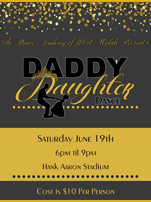 """Tickets for """" Father / Daughter Dance"""