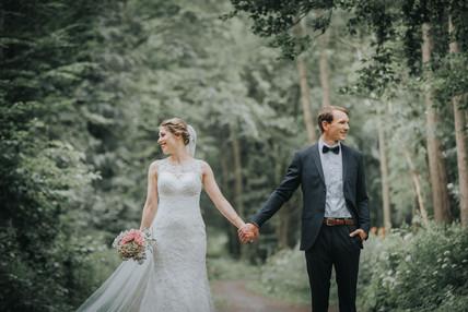 Natürliche Hochzeitsfotografie Kassel