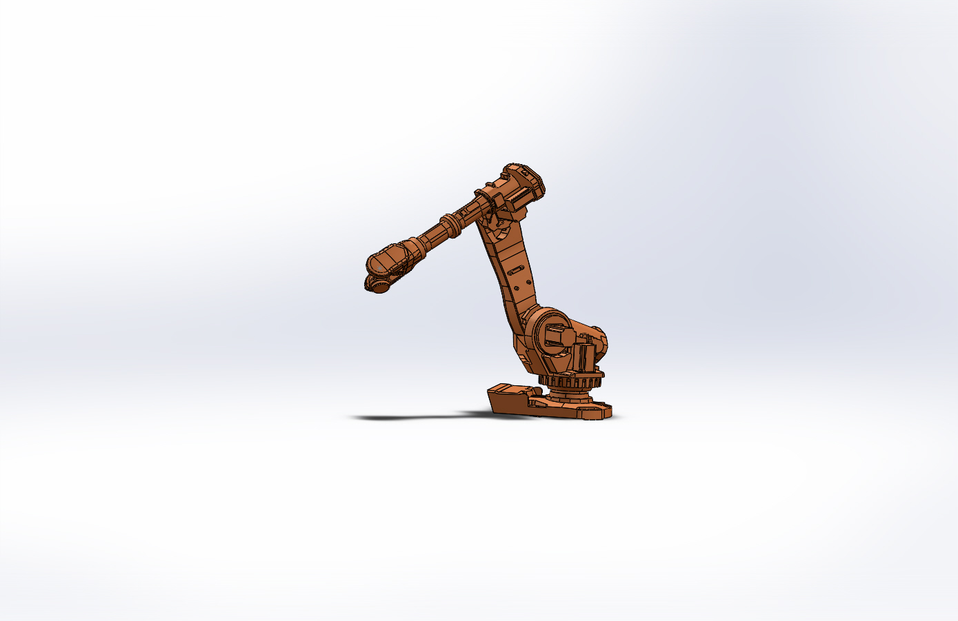 Robotic Arm CAD Model