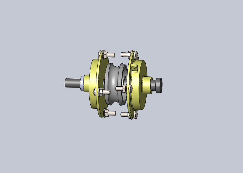 Gear Box CAD Model