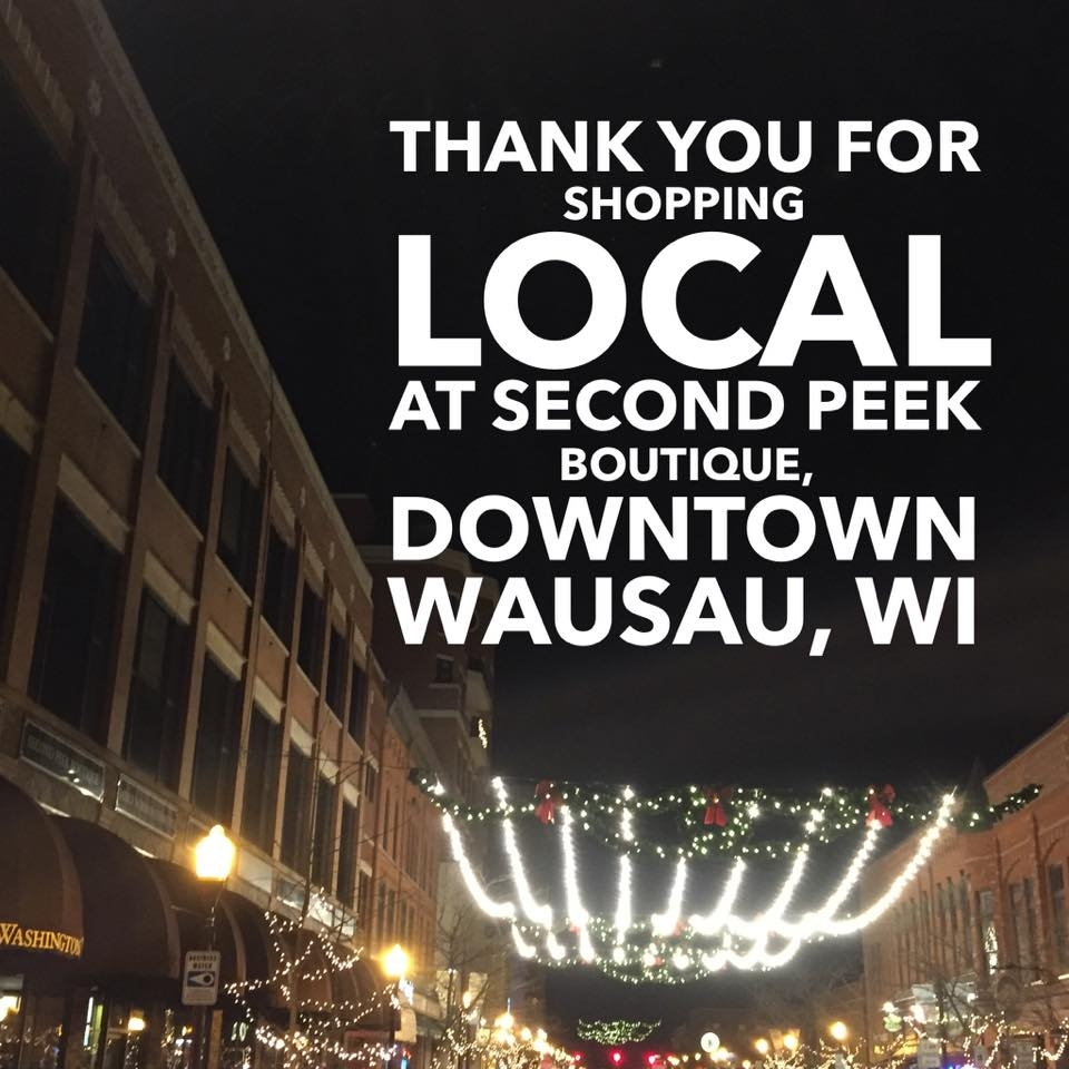 shop local wausau