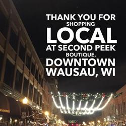 shop local wausau