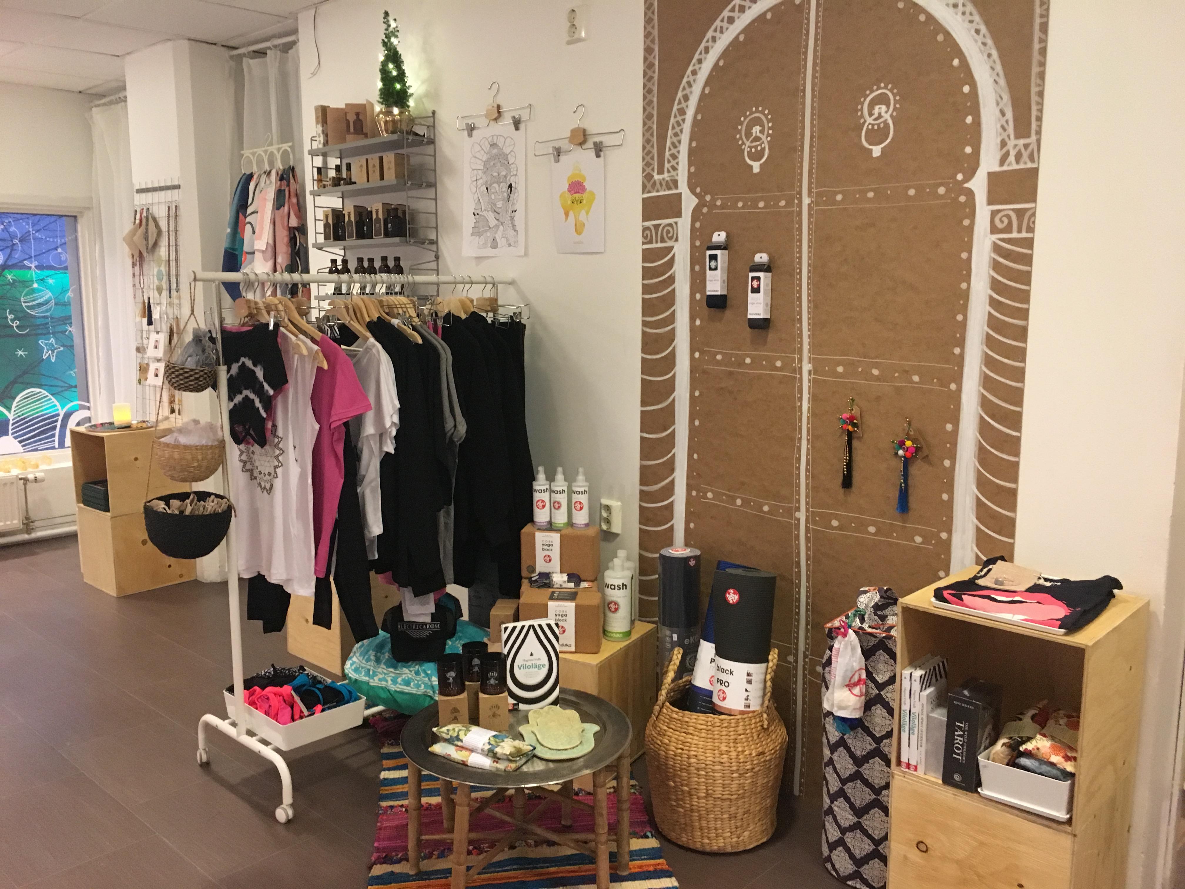 PopUp Shop Luleå Yoga