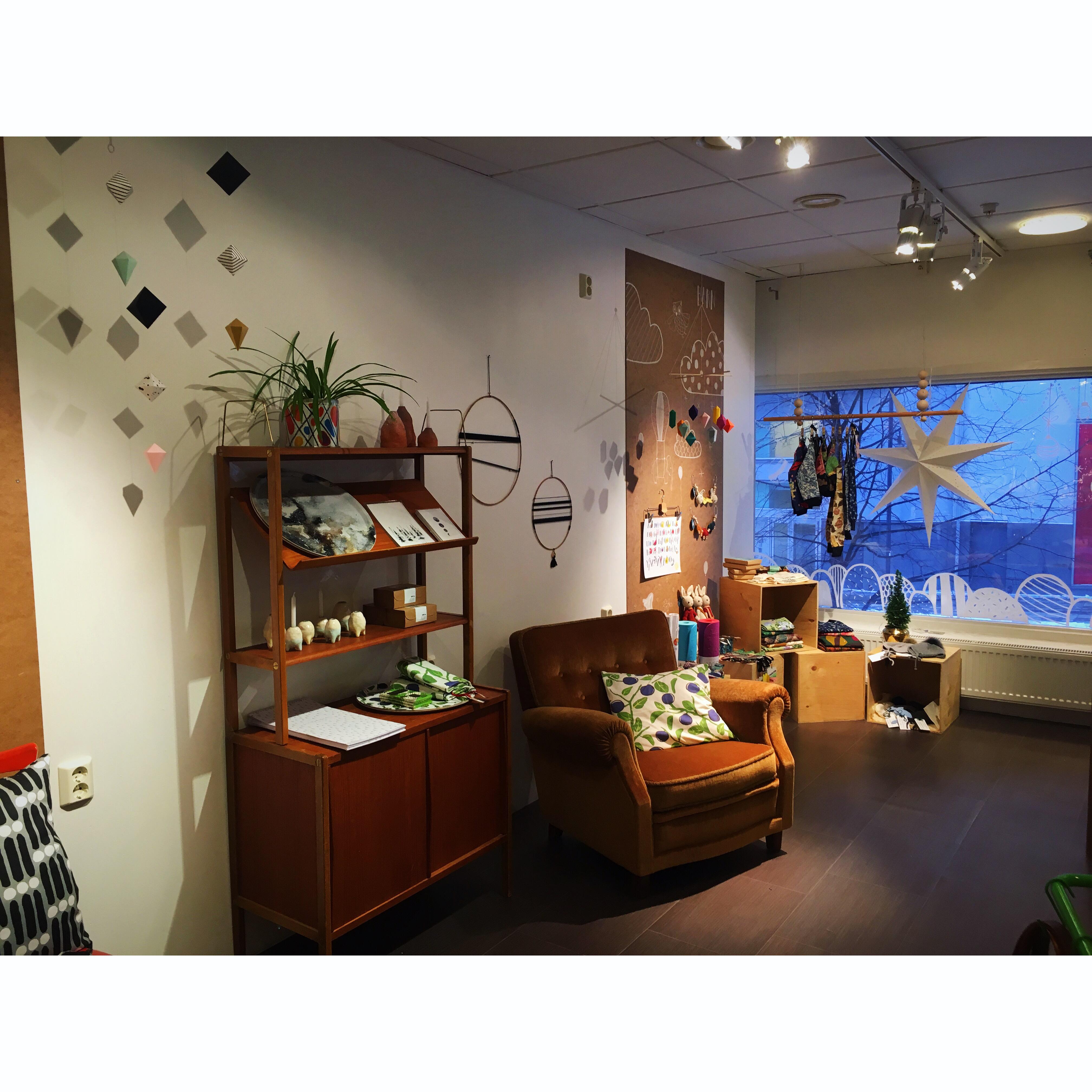 PopUp Shop Luleå vardagsrum