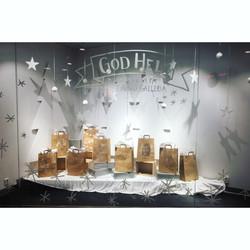 Strand Galleria julskyltning