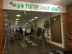 PopUp Shop Luleå entré