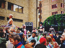Shakin our stuff at a Shoreditch Street Party with Krankbrother