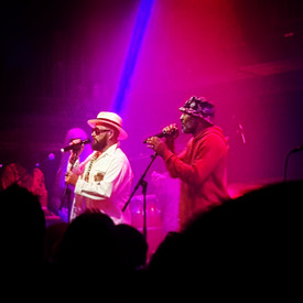 The Cuban Brothers blend latin disco funk, comedy and break-dancing at The Jazz Cafe