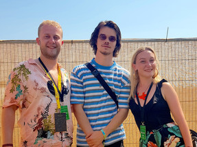 Interview: Oscar Jerome on AC/DC, time travel and a new take on jazz at Love Supreme Festival