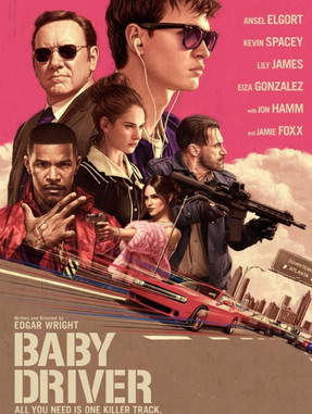 Director Edgar Wright returns with a soundtrack driven classic in Baby Driver
