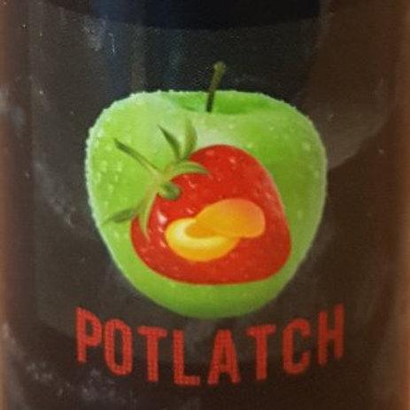 Potlatch 100ML Green Apple/Strawberry/Peach