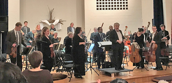 2017 May Concert at Salvation Army Auditorium in Philadelphia, PA