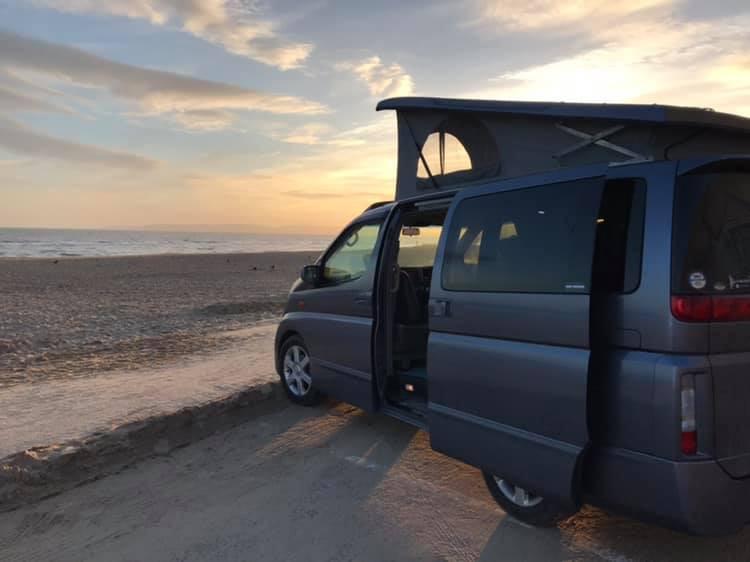 Nissan Elgrand - Elevating Roof - Northstar Conversions - Isle of Wight - Hampshire - Camper Van Conversions (1)