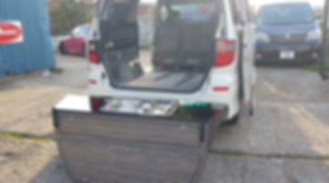 """Northstar Conversions - Toyota Alphard - Removable """"Outback"""" Rear Conversion"""