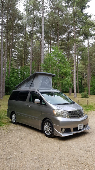 """""""Neville"""" -Alphard Roof and RR"""