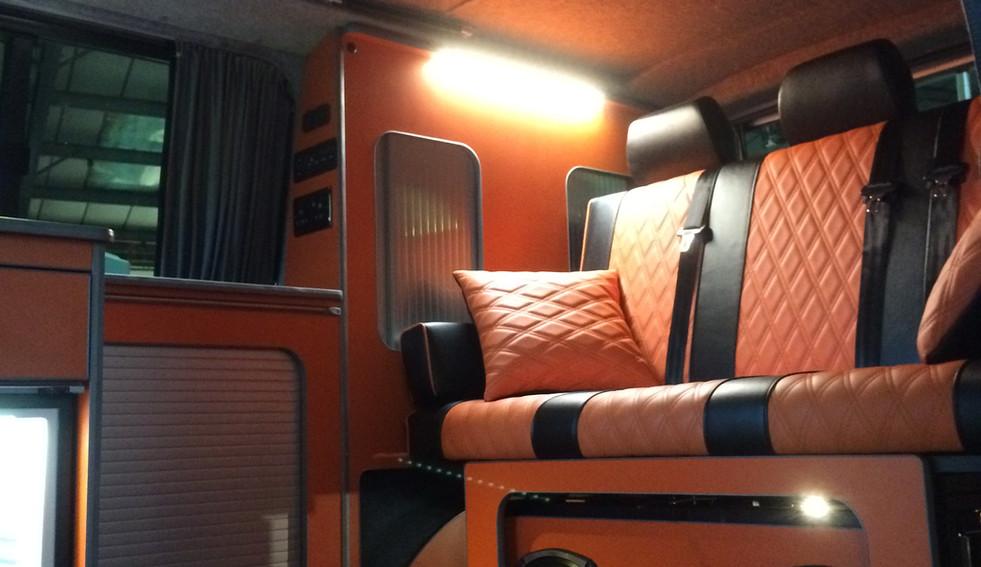 Volkswagen Transporter Wide Bed Conversi