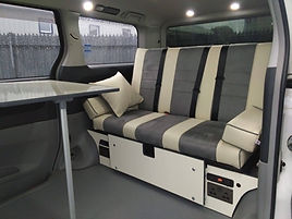"Northstar Conversions - Toyota Alphard - 48"" Rock n' Roll Bed Day Van"