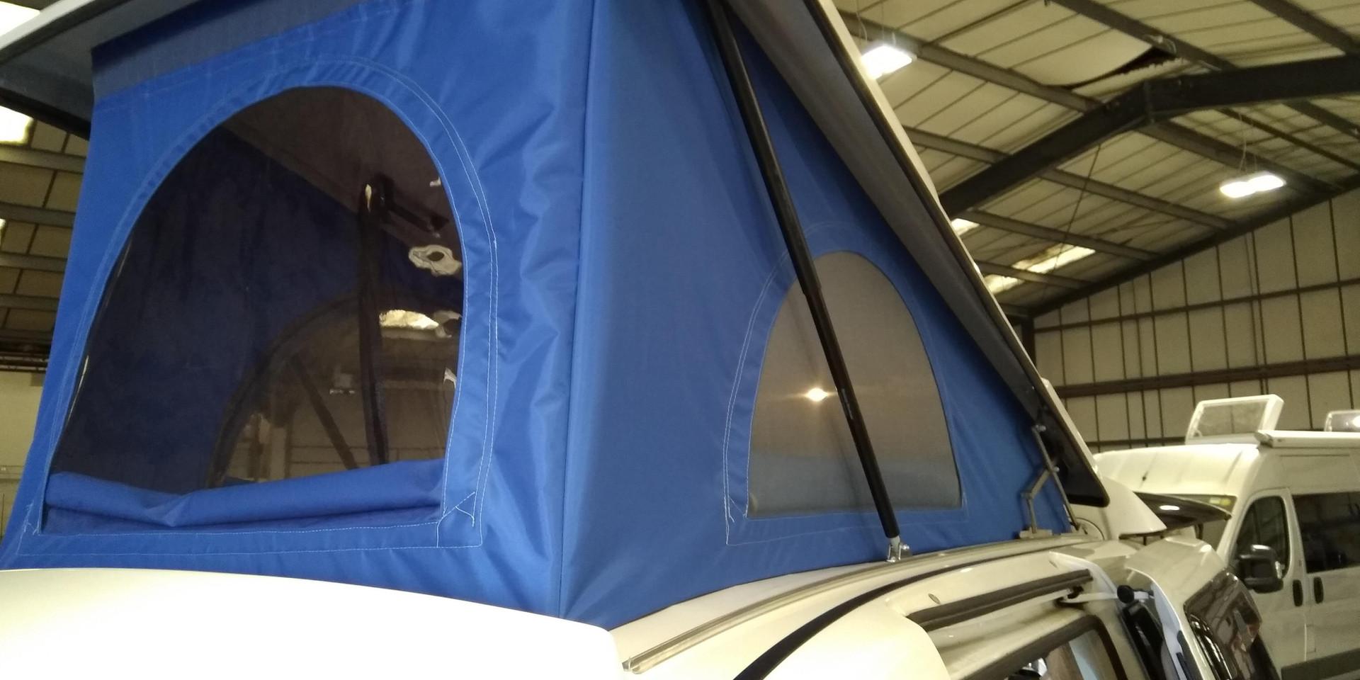 Drivelodge Elevating roof