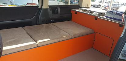 Northstar Conversions - Single Berth Day Van - Toyota Alphard - Nissan Elgrand - Mazda Bongo