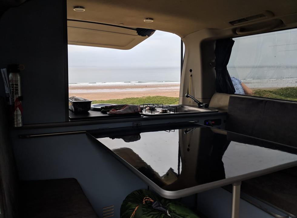 Nissan Elgrand - Outback rear Conversion - Northstar Conversions Ltd - Isle of Wight - Hampshire - Camper Van conversions