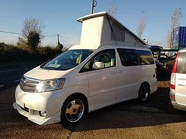 Northstar Conversions Toyota Alphard Elevating Roof