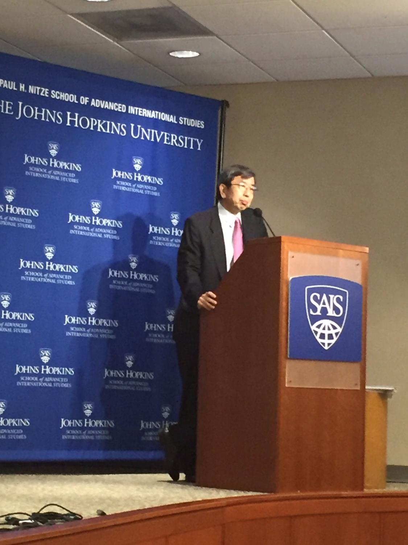 President Takehiko Nakao