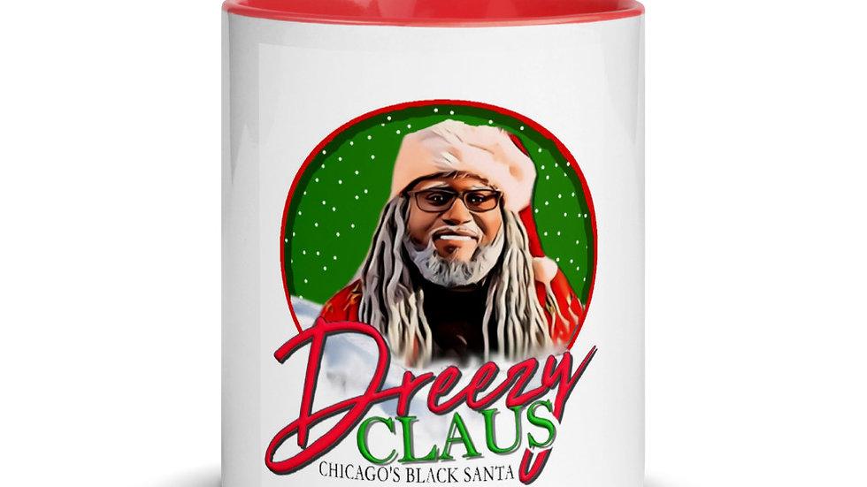 Dreezy Claus Logo Mug