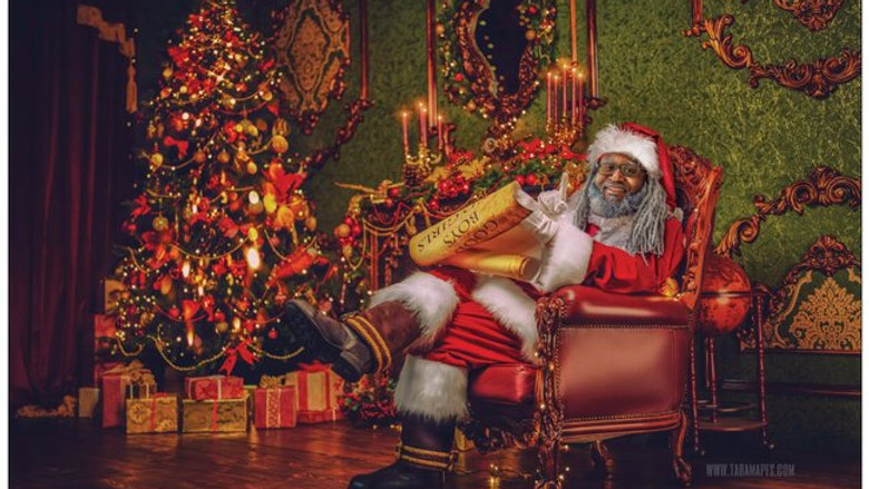Dreezy Claus Naughty or Nice Card