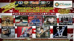 Veterans Day Celebration Poster