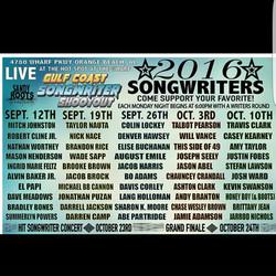Gulf Coast Songwriter Poster