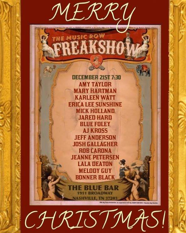The Freak Show at The Blue Bar