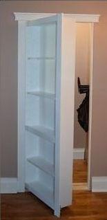 Hidden single door