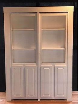Hidden door double