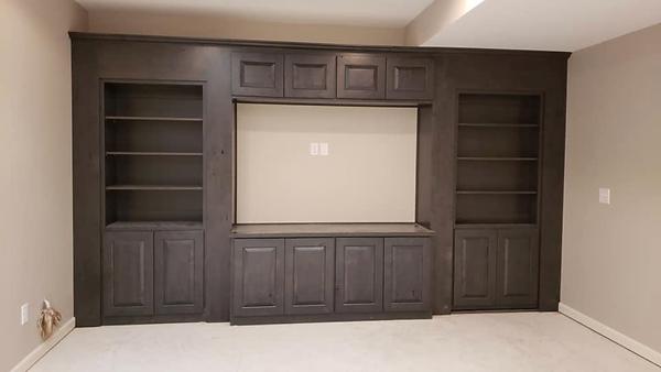 Custom Hide-A-Way Doors