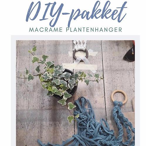 DIY Pakket- Macramé plantenhanger
