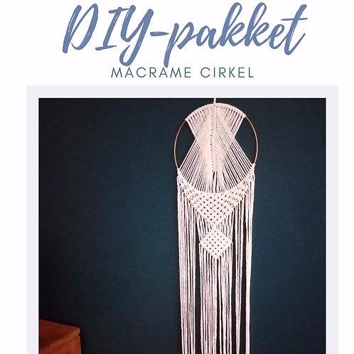 DIY pakket Macramé cirkel